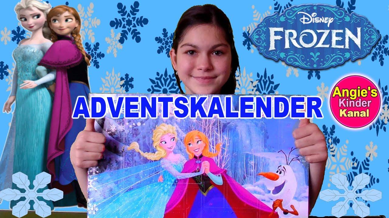 Disney Frozen Advent Calendar Anna Elsa Unboxing - Eiskönigin German ...