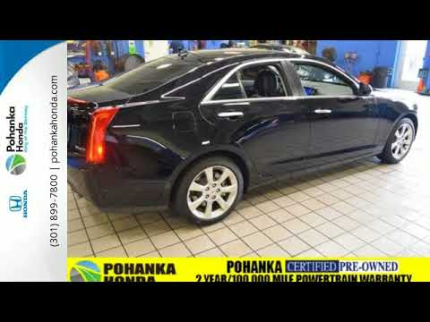 Used 2014 cadillac ats washington dc honda dealer md for Washington dc honda dealers