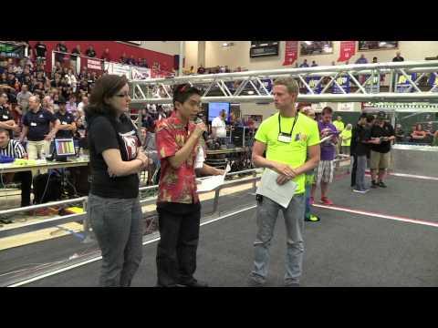 2014 Indiana Robotics Invitational Alliance Selection