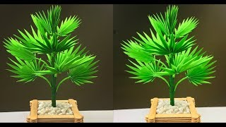 How To Make a Palm Tree With Paper | Paper Crafts For School | Paper Leaves