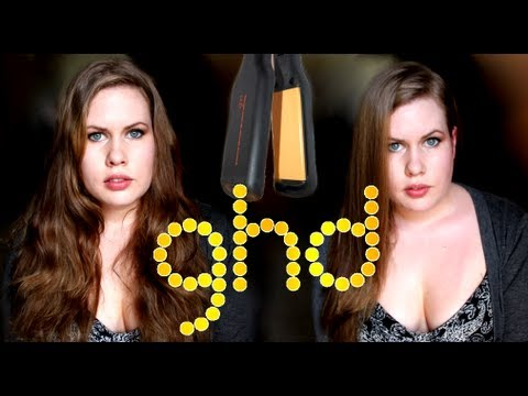 Ghd Flat Iron Straightener Review Wide Plate Youtube