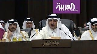 مقيمين وعلى ماء .. تشرح الوضع مع قطر