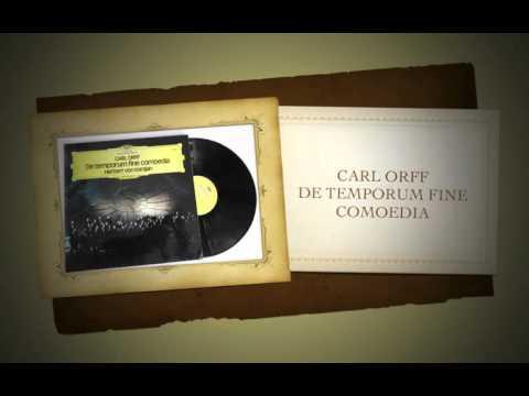 Carl Orff De Temporum Fine Comoedia (Salzburg 1972) Herbert von Karajan