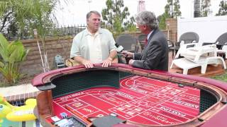 Alan Mendelson And Big Jeff's Craps Tables