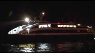 NobidadeTV: Cabo Verde Fast Ferry.Blessing of the ship in Brava, Cabo Verde Sunday, Jan 9 ...