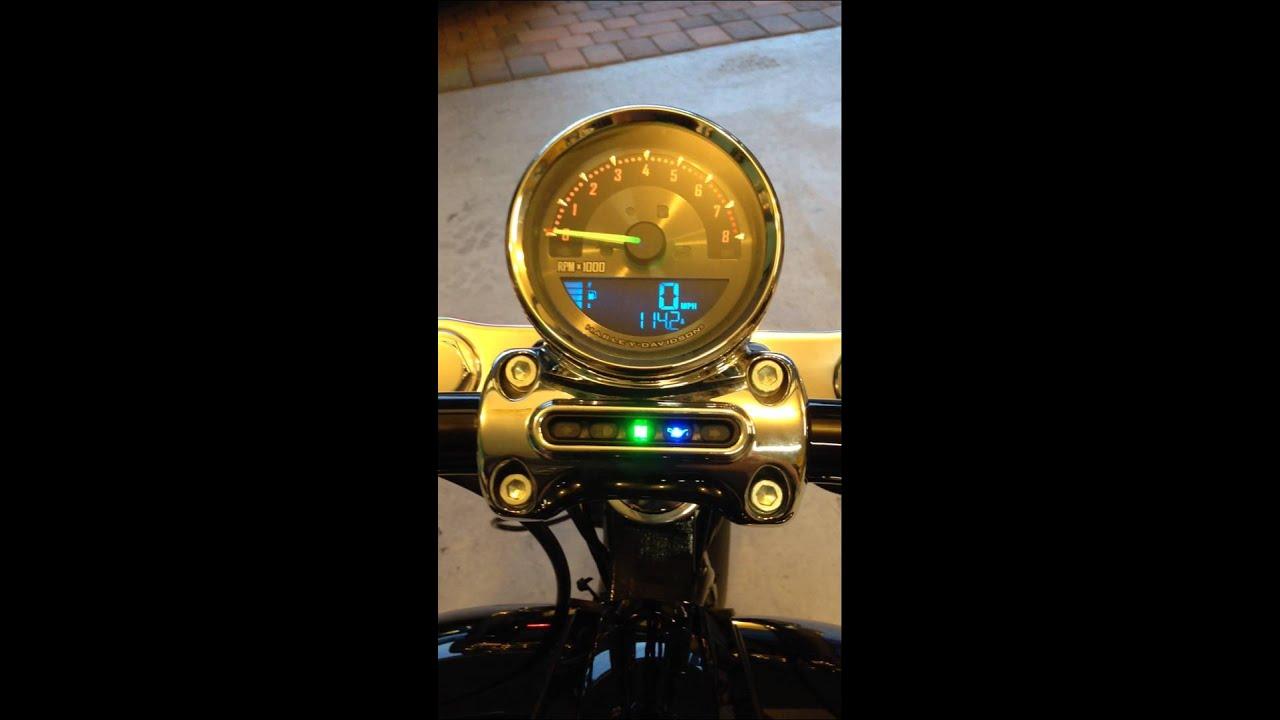 Harley Davidson Breakout Speedometer Flip