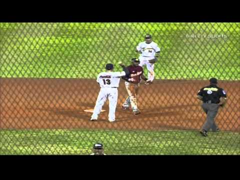 Ultimo out de la final Caracas vs Magallanes 2009/10 (version Mvpcaribe) from YouTube · Duration:  1 minutes 5 seconds