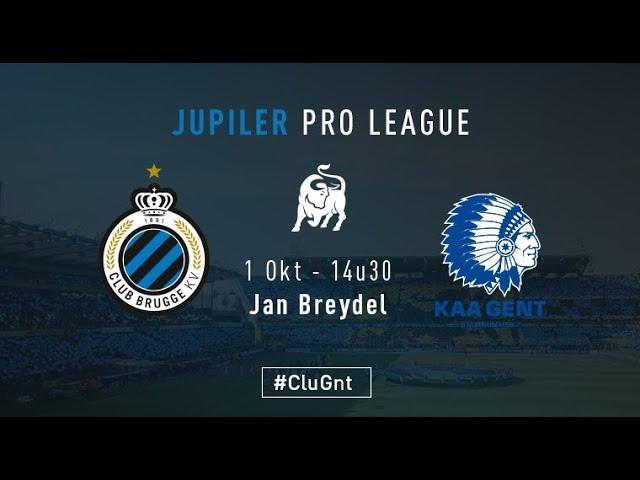 CLUB BRUGGE - GENT | Matchverslag | 2017-2018