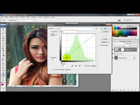 Tutorial Photoshop Blend and Retouch Soft Light
