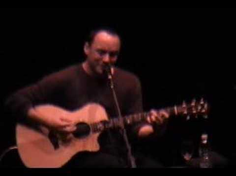 Dave Matthews - I'll Back You Up 10.24.02