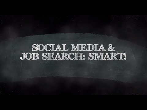 Social Media & Job Search: Be Smart!, by Rick Gillis