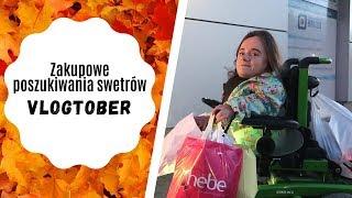 Zakupowe poszukiwania swetrów   Vlog   VLOGTOBER #5   Magdalena Augustynowicz