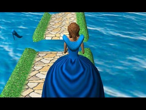 Cinderella. Road To The Ball -  Queen Funny Run