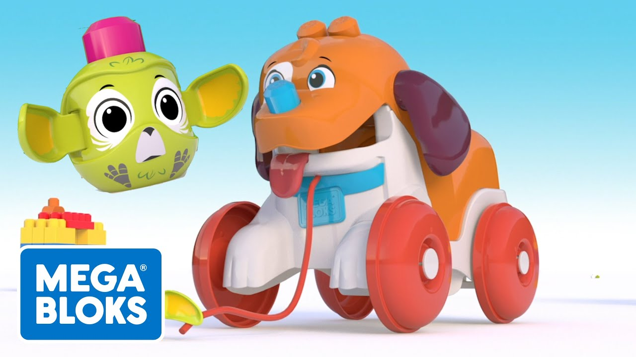 MEGA BLOKS™ | Cachorro sale a caminar | NOVO | Desenhos Animados | Para crianças