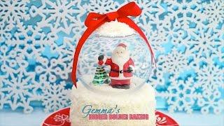 Snow Globe Cake - Gemma's Bigger Bolder Baking Ep. 46