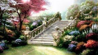 Stairway to Paradise by Thomas Kinkade