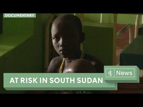 South Sudan famine - one million children at risk of starvation