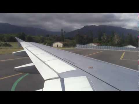 SB411 - Airbus A320-200 - Auckland to Nouméa La Tontouta