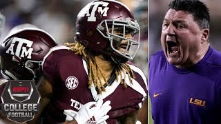 No. 22 Texas A&M outlasts No. 7 LSU in 7-OT thriller | College Football Highlights