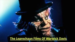 The Leprechaun Films of Warwick Davis (almost a Pecha Kucha)