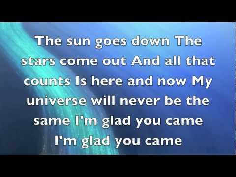 Glad you came-The Wanted Lyrics [HD-720p]