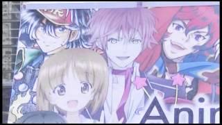 アニメジャパン 入口 巨大看板 ガルパンetc... 2014/03 AnimeJapan
