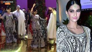 Sonam Kapoor Dances On Sandeep Khosla's Niece Saudamini Mattu Wedding Reception