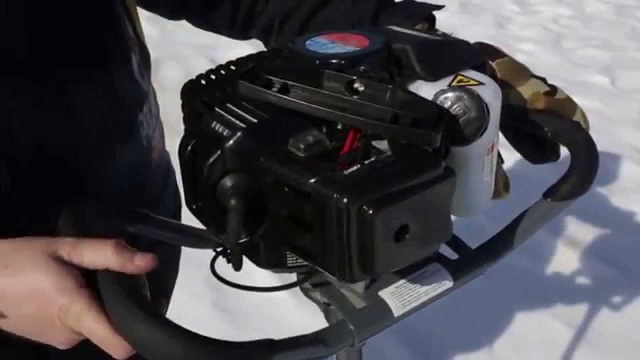 Ice Auger - Ice Fishing Forum | In-Depth Outdoors