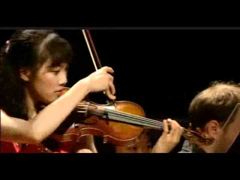 Nancy Zhou | Prokofiev Violin Sonata No. 1 | 4th mvt | Queen Elisabeth Competition | 2012