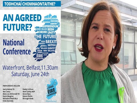AN AGREED FUTURE? - National Conference invitation