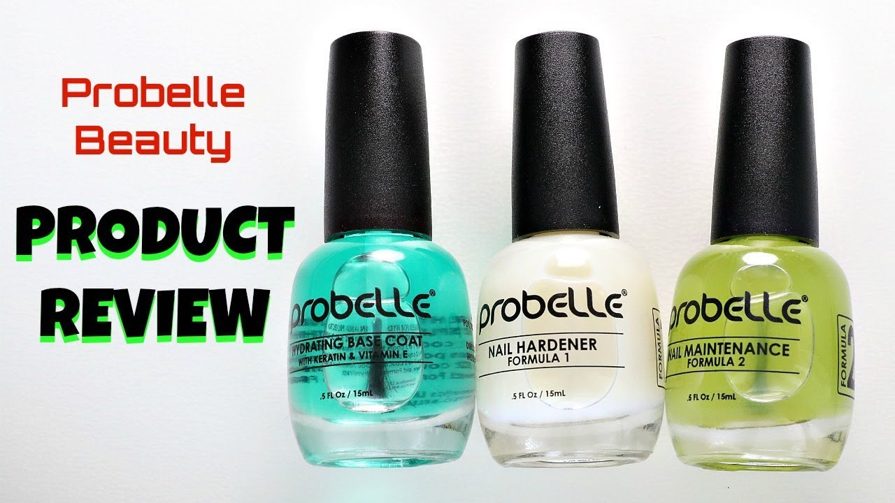 Probelle Beauty Nail Hardener (Formula 1 and 2) Product Review + ...
