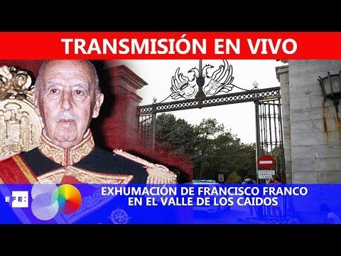 VIDEO DIRECTO Exhumación de los restos de Franco del Valle de los Caídos