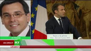 Olivier Berruyer sur les vœux à la presse de Macron et les «fake news»