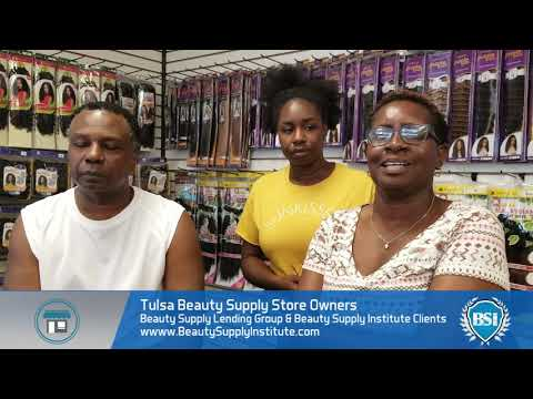 Tulsa black beauty supply store owners talk about Beauty Supply Institute