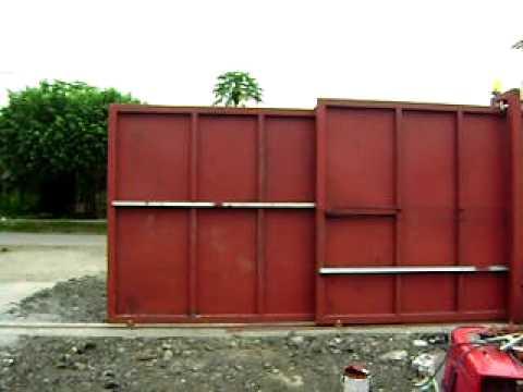 Puerta corrediza telescopica youtube - Puerta de paso corredera ...