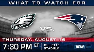Patriots vs. Eagles preseason game preview