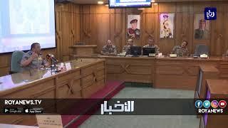 الحواتمة يحاضر حول دور قوات الدرك في الأمن الوطني - (25-7-2018)