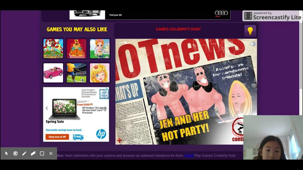Celebrity Hunt - Free online games at Gamesgames.com