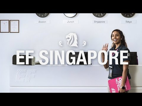 EF Singapore – Tour of the School