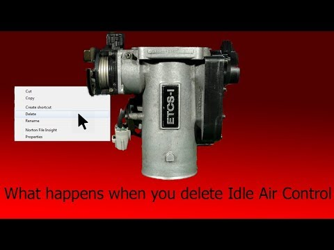 This Is What Happens When You Delete Idle Air Control (Iacv)