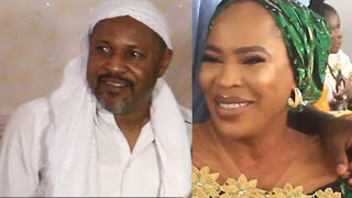SAHEED BALOGUN AND FATHIA BALOGUN MEET  SHOLA KOSOKO 40TH BIRTHDAY
