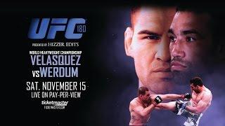 UFC 180: Velasquez vs Werdum Promo