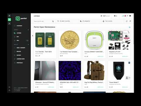 How to Sell an Item On Particl's Open Marketplace