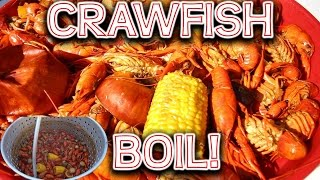 How to Boil Crawfish and Eat it Too!