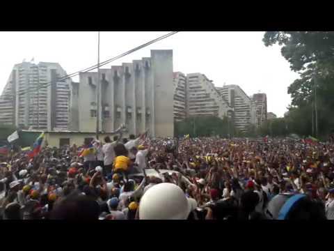 ¡Al grito de sí se pudo!: Cientos de caraqueños copan Montalbán junto a dirigentes opositores