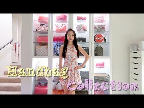 (中文English Subs) 🎁Giveaway ❤️ Elaine Hau - 我的手袋分享 My Handbag Collection 👛