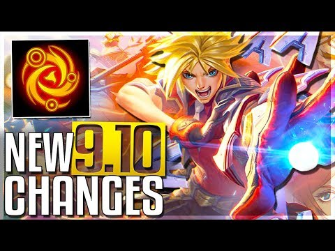 New Master Yi Q, Malphite Mini-Rework, Riven Changes & More - New Patch 9.10 Changes (Early Look)
