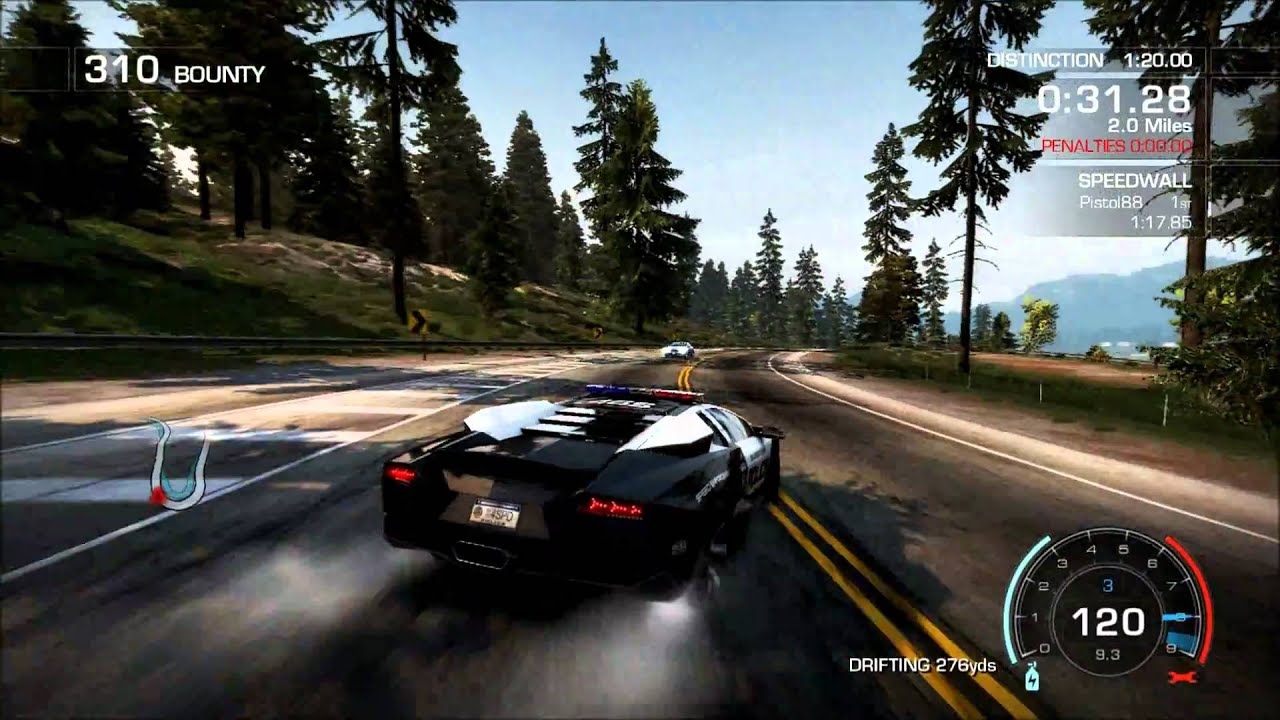 need for speed hot pursuit car info lamborghini revent n police intercept. Black Bedroom Furniture Sets. Home Design Ideas
