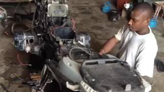 BMW R1150GS Adventure moteur part 4 garage Moto BMW Sénégal
