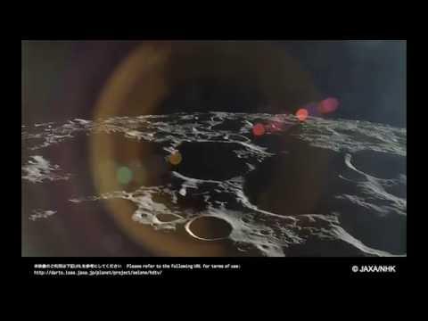 Rise of Earth and Venus Viewed by JAXA Kaguya Spacecraft
